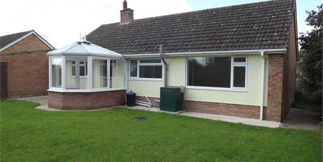 Asking Price £235,000, 3 Bedroom Detached Bungalow For Sale in Moorland, TA7