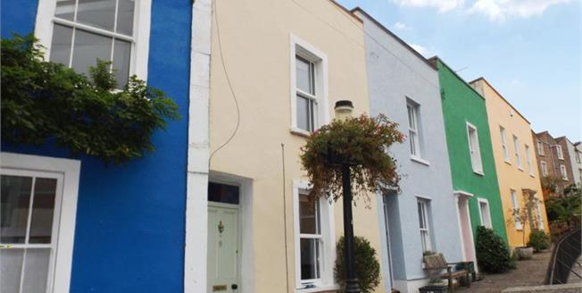 Guide Price £410,000, 2 Bedroom Terraced House For Sale in Bristol, BS8