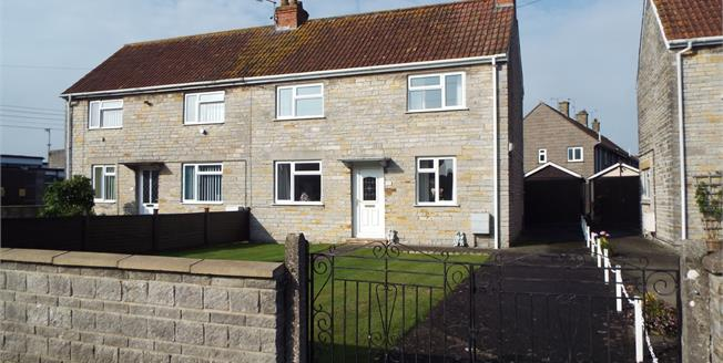 Asking Price £185,000, 3 Bedroom Semi Detached House For Sale in Somerton, TA11