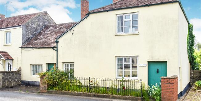 Asking Price £170,000, 2 Bedroom Semi Detached Cottage For Sale in Curry Rivel, TA10