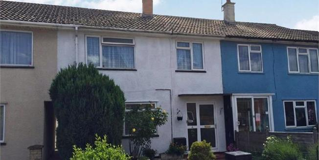 £140,000, 3 Bedroom Terraced House For Sale in Taunton, TA2