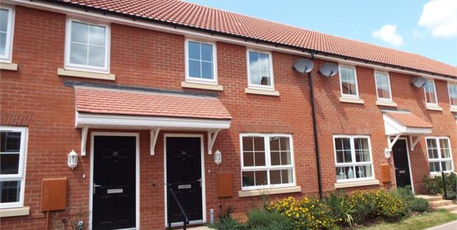 £91,250, 3 Bedroom Terraced House For Sale in Taunton, TA2