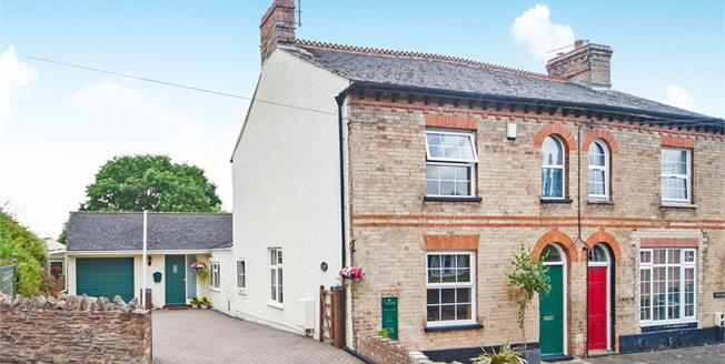 Offers in the region of £400,000, 3 Bedroom Semi Detached House For Sale in Kingston St. Mary, TA2
