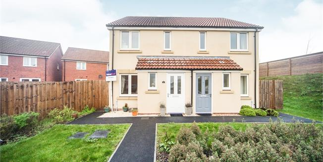 Asking Price £180,000, 2 Bedroom Semi Detached House For Sale in Bathpool, TA2