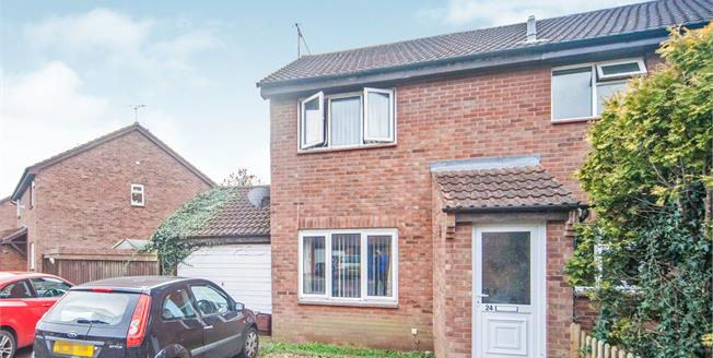 Asking Price £180,000, 2 Bedroom Semi Detached House For Sale in Taunton, TA2