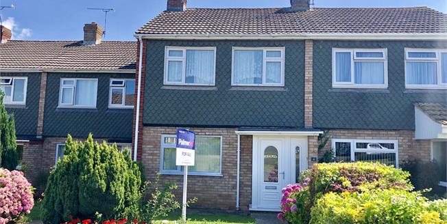 Asking Price £215,000, 3 Bedroom Terraced House For Sale in Taunton, TA1
