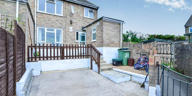 Offers in excess of £170,000, 2 Bedroom End of Terrace House For Sale in Westbury Sub Mendip, BA5