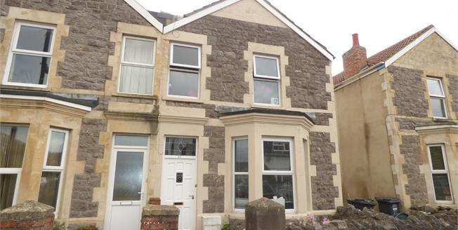 Guide Price £150,000, 3 Bedroom Semi Detached House For Sale in Weston-super-Mare, BS23
