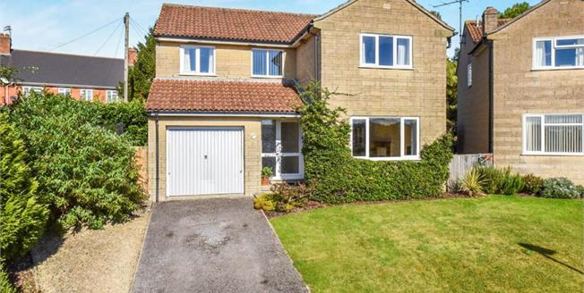 Asking Price £400,000, 4 Bedroom Detached House For Sale in Bruton, BA10