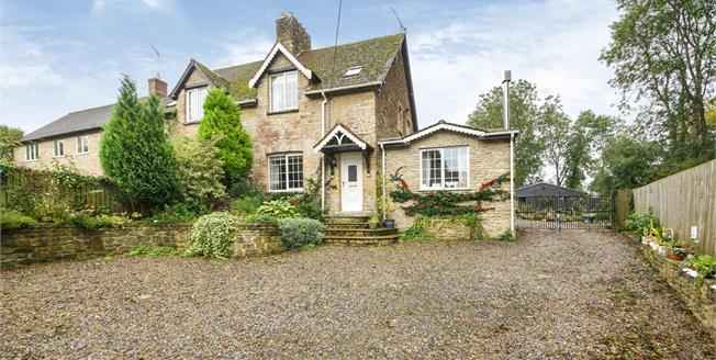 Asking Price £495,000, 3 Bedroom Semi Detached House For Sale in Buckhorn Weston, SP8