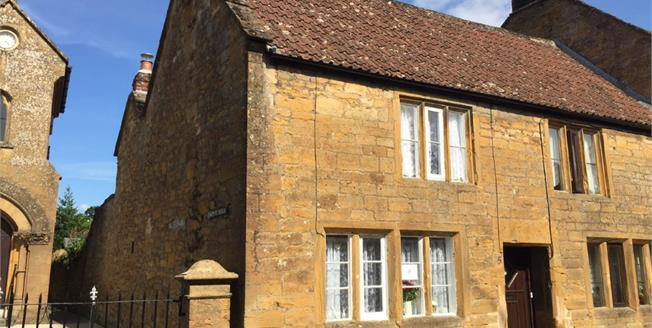 Offers in excess of £220,000, 2 Bedroom End of Terrace Cottage For Sale in Montacute, TA15