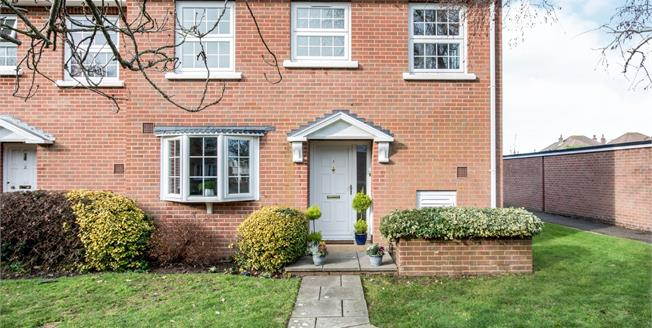 Asking Price £379,950, 3 Bedroom End of Terrace House For Sale in Christchurch, BH23