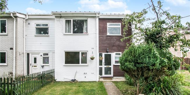 Guide Price £300,000, 4 Bedroom End of Terrace House For Sale in Burton, BH23