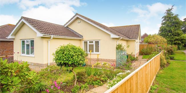 Offers Over £440,000, 2 Bedroom Detached Bungalow For Sale in Christchurch, BH23