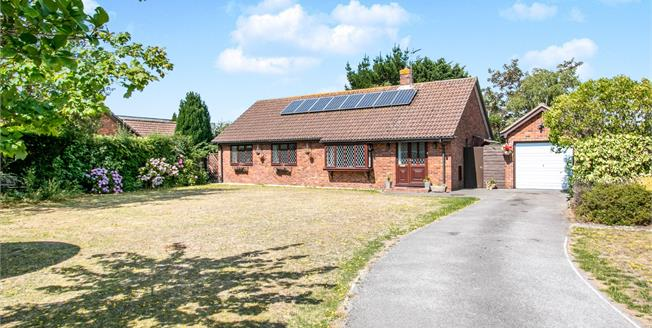 Offers Over £395,000, 3 Bedroom Detached Bungalow For Sale in Christchurch, BH23