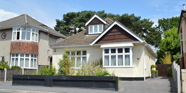 Asking Price £550,000, 4 Bedroom Detached Bungalow For Sale in Bournemouth, BH8