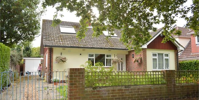 Guide Price £375,000, 4 Bedroom Detached Bungalow For Sale in Bournemouth, BH10