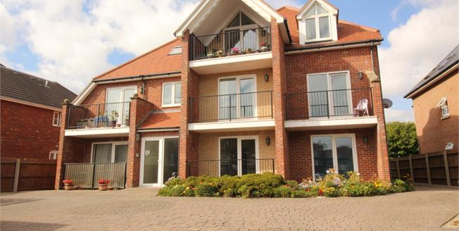 Offers Over £270,000, 2 Bedroom Flat For Sale in Bournemouth, BH6