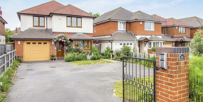 Guide Price £550,000, 4 Bedroom Detached House For Sale in Bournemouth, BH7