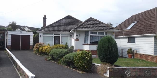 Guide Price £284,950, 2 Bedroom Detached Bungalow For Sale in Bournemouth, BH10