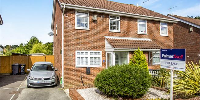 Guide Price £270,000, 3 Bedroom Semi Detached House For Sale in Bournemouth, BH11