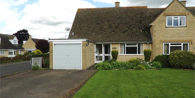 Asking Price £244,950, 2 Bedroom Semi Detached Bungalow For Sale in Mickleton, GL55