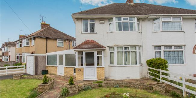 Guide Price £200,000, 3 Bedroom Semi Detached House For Sale in Cheltenham, GL51