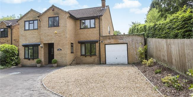 Guide Price £620,000, 4 Bedroom Detached House For Sale in Charlton Kings, GL53