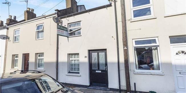 Guide Price £170,000, 2 Bedroom Terraced House For Sale in Cheltenham, GL51