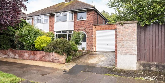 Offers Over £350,000, 3 Bedroom Semi Detached House For Sale in Cheltenham, GL52