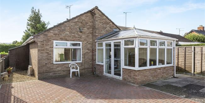Guide Price £230,000, 2 Bedroom Detached Bungalow For Sale in Cheltenham, GL51