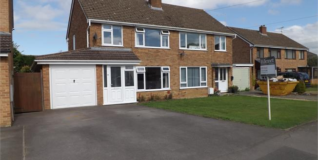 Guide Price £265,000, 3 Bedroom Semi Detached House For Sale in Dursley, GL11