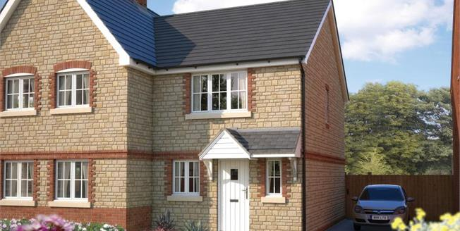 £195,000, 2 Bedroom Semi Detached House For Sale in Honeybourne, WR11