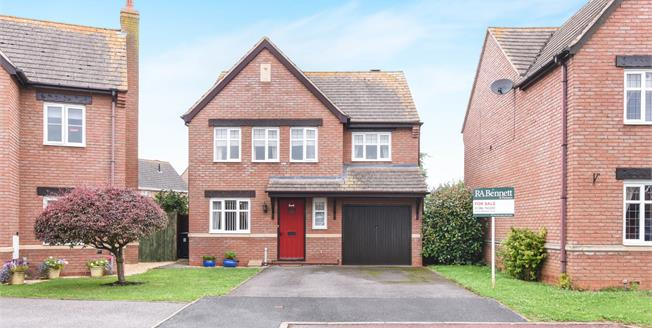 Offers in the region of £300,000, 4 Bedroom Detached House For Sale in Honeybourne, WR11