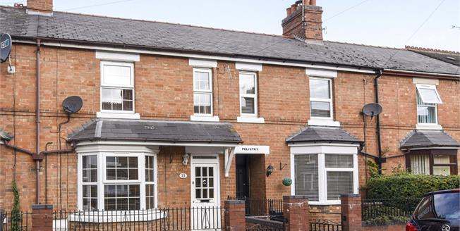 Offers Over £180,000, 3 Bedroom Terraced House For Sale in Evesham, WR11