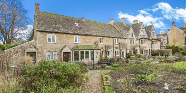 Guide Price £300,000, 2 Bedroom End of Terrace House For Sale in Bourton-on-the-Water, GL54