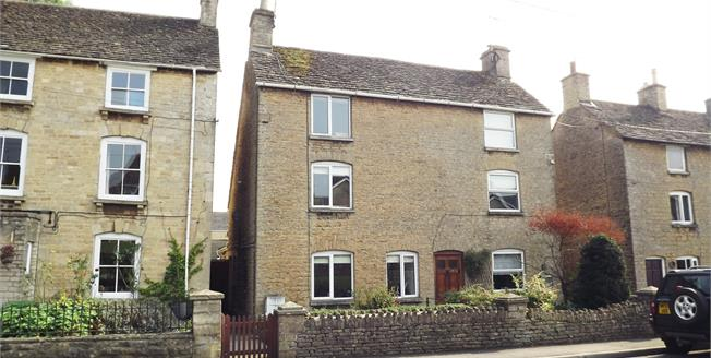 Guide Price £295,000, 2 Bedroom Semi Detached House For Sale in Tetbury, GL8