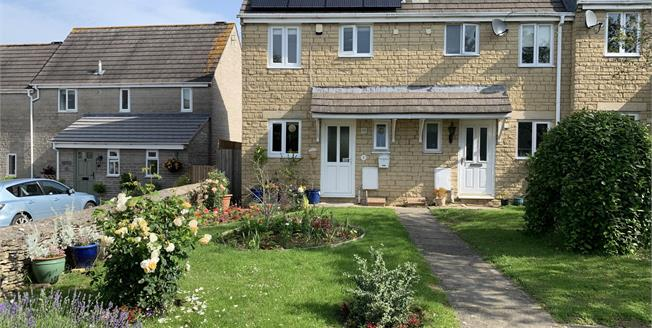 Guide Price £245,000, 2 Bedroom End of Terrace House For Sale in Tetbury, GL8