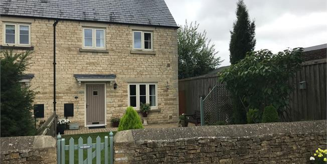 Guide Price £335,000, 4 Bedroom End of Terrace House For Sale in Tetbury, GL8