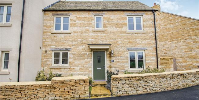 Offers Over £315,000, 3 Bedroom Semi Detached House For Sale in Tetbury, GL8