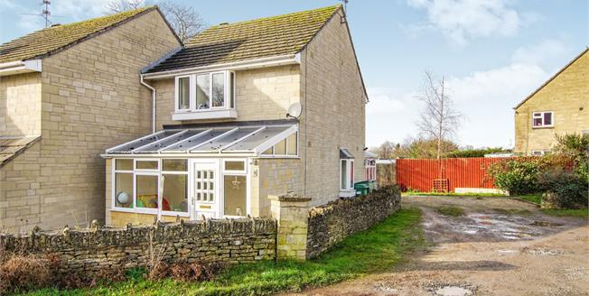 Offers in excess of £265,000, 3 Bedroom Semi Detached House For Sale in Tetbury, GL8