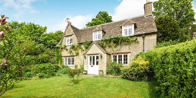 Offers in excess of £650,000, 3 Bedroom Detached Cottage For Sale in Doughton, GL8