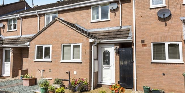 Offers in excess of £140,000, 2 Bedroom Terraced House For Sale in Worcestershire, WR3
