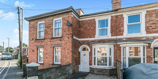 Offers in excess of £140,000, 2 Bedroom Terraced House For Sale in Worcester, WR5