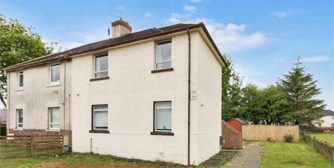 Offers Over £60,000, 1 Bedroom Upper Floor Flat For Sale in Prestwick, KA9
