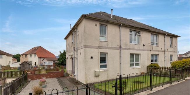 Offers Over £55,000, 2 Bedroom Ground Floor Flat For Sale in Maybole, KA19