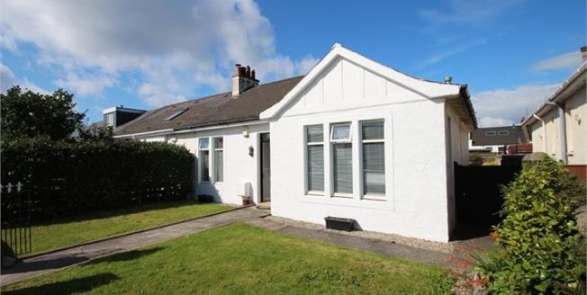 Offers Over £160,000, 2 Bedroom Semi Detached Bungalow For Sale in Ayr, KA8