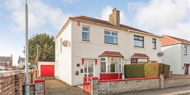 Offers Over £145,000, 3 Bedroom Semi Detached For Sale in Prestwick, KA9