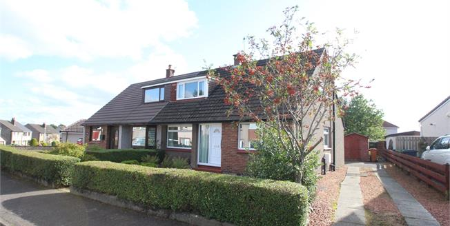 Offers Over £190,000, 3 Bedroom Semi Detached House For Sale in Bishopbriggs, G64