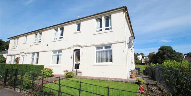 Offers Over £85,000, 2 Bedroom Upper Floor Flat For Sale in Kilmacolm, PA13